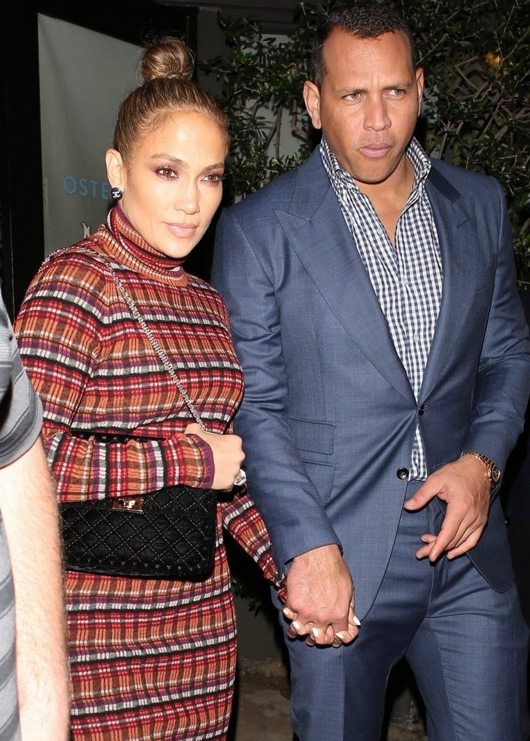 Jennifer Lopez and Alex Rodriguez - Romantic Date Night in Los Angeles image