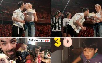 Sophie Turner Surprises JOE JONAS With 30th Birthday Cake!