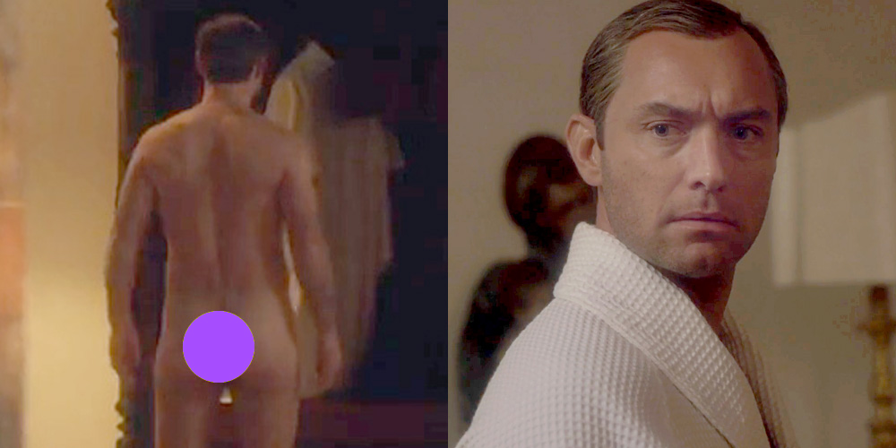 Jude Law Naked In Deleted Scene Naked Male Celebrities