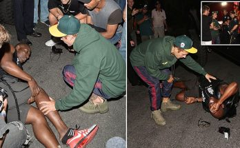 Justin Bieber RUNS-OVER Paparazzi While Leaving CHURCH!