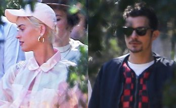 Katy Perry Attends Church Service Led by Kanye West