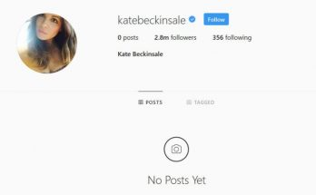 Kate Beckinsale Deletes Her Instagram Account