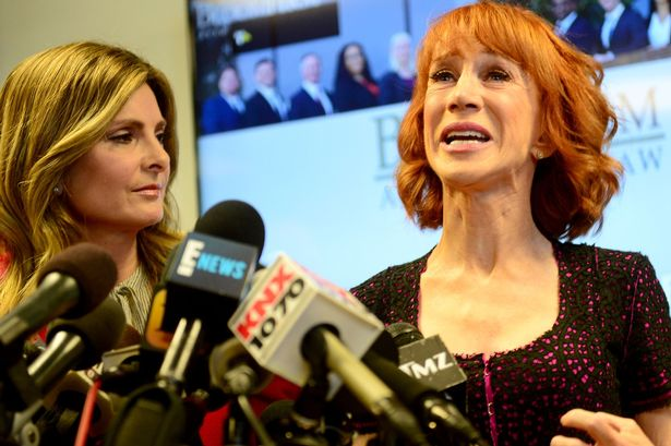 Kathy Griffin Says Her Driver Tried to KILL HER!
