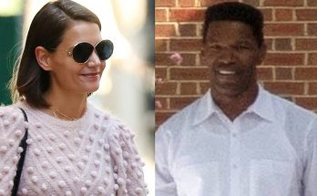 Katie Holmes and Jamie FOXX Put in a Workout in ATLANTA!