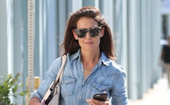 Katie Holmes is a DENIM-ON-DENIM Girl in Beverly Hills!