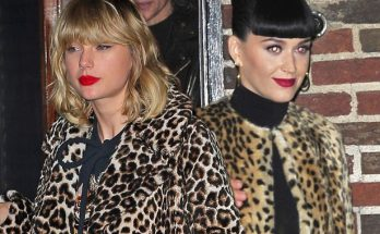 """Katy Perry Is Ready """"TO LET GO"""" Her Feud With Taylor Swift"""