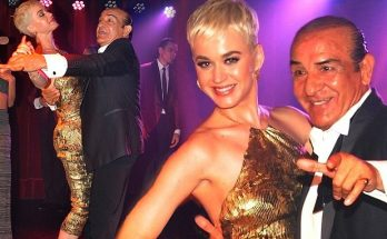 Katy Perry Tangos in Argentina!