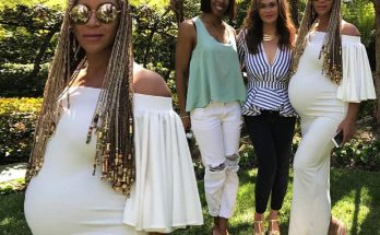Kelly Rowland and Beyoncé Celebrate Easter Together...Where you at Michelle? LOL