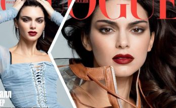 Kendall Jenner Covers VOGUE RUSSIA!