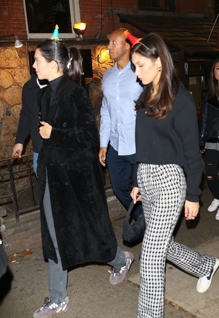 Kendall Jenner HIts the Town With Bella Hadid to Celebrate Turning 23! image