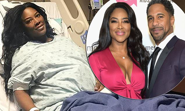 REAL HOUSEWIVES Of Atlanta Star Kenya Moore Gives Birth to Baby Named Brooklyn! image