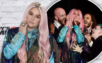 Kesha - 'Learn to Let Go' at MTV EMAs 2017