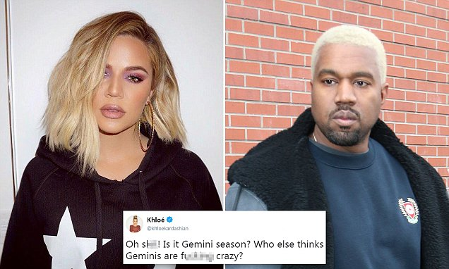 KHLOE Kardashian Says Geminis ARE CRAZY! Listens to Taylor Swift, Shades Kanye West!