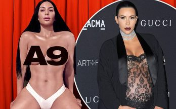 Kim Kardashian Says She's UNCOMFORTABLE Talking About Sex While Posing NUDE For Richardson Magazine