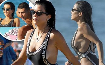 Kourtney Kardashian Goes NUDE With Boyfriend Younes Bendjima in St. Tropez!