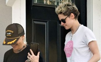 Kristen Stewart Meets Her GIRL-FRIEND For Lunch!