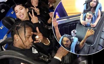 Kylie Jenner Rents an ENTIRE SIX FLAGS For Travis Scott's Birthday!