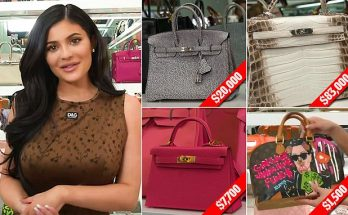 Kylie Jenner Says She'll Give Her Daughter a Hermes Purse