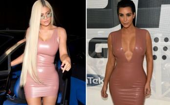 Kylie Jenner Wears Kim's Old Latex Dress
