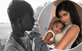 Kylie Jenner Shares Dazzling Photos of TRAVIS SCOTT For Father's Day!