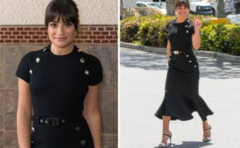 LEA MICHELE Remembers Corey Monteith With Touching Post