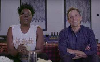 'Game of Thrones' Character Comes to Life for Leslie Jones & SETH Meyers!