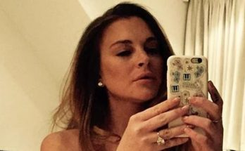 Lindsay Lohan GOES NUDE And Sits On the Floor to Celebrate Her 34th Birthday