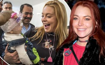 Lindsay Lohan Spending Christmas With Syrian Refugees!