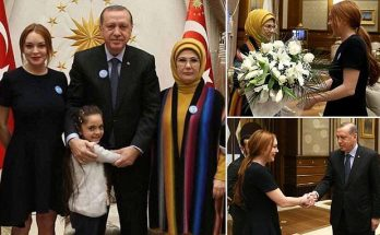 Lindsay Lohan Makes Triumphant Return to Instagram After Meeting Turkish President