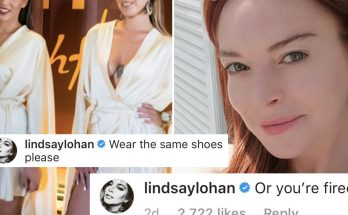 Lindsay Lohan Makes Staff Wear Matching Shoes or GET FIRED!