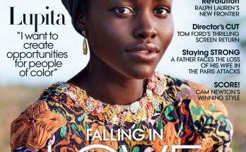 "Lupita Nyong'o October Vogue Cover 2016, Wants to ""Create Opportunities For People of Color"""