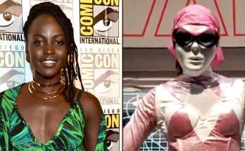 Lupita Nyong'o Was a Pink Power RANGER at Comic-Con