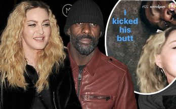 Wohoooo: Madonna and Idris Elba Intimately Party Together at London STEAKHOUSE!