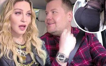 Madonna TWERKS & VOGUES With James Corden on 'Carpool Karaoke'