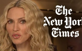Madonna Says She Feels RAPED by The New York Times!
