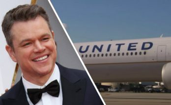Matt Damon Gets KICKED OFF United Airlines!
