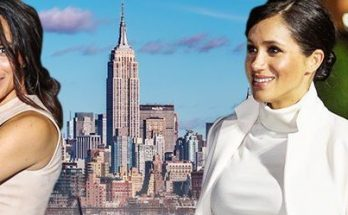 Meghan Markle Travels to New York City for ROYAL BABY SHOWER!