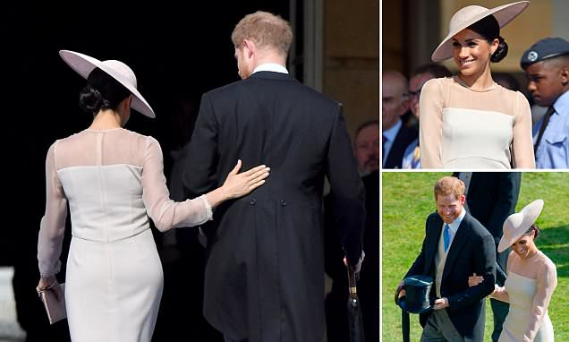 DUCHESS Meghan Markle Makes First Public Appearance With Prince Harry!