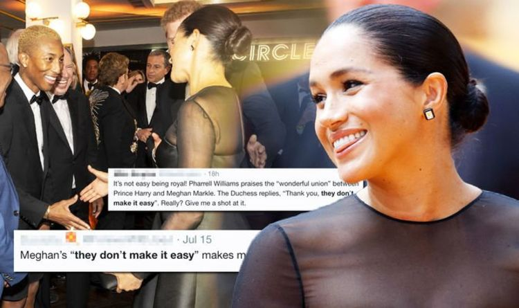Meghan Markle Reveals Marriage Struggles While Meeting Pharrell!