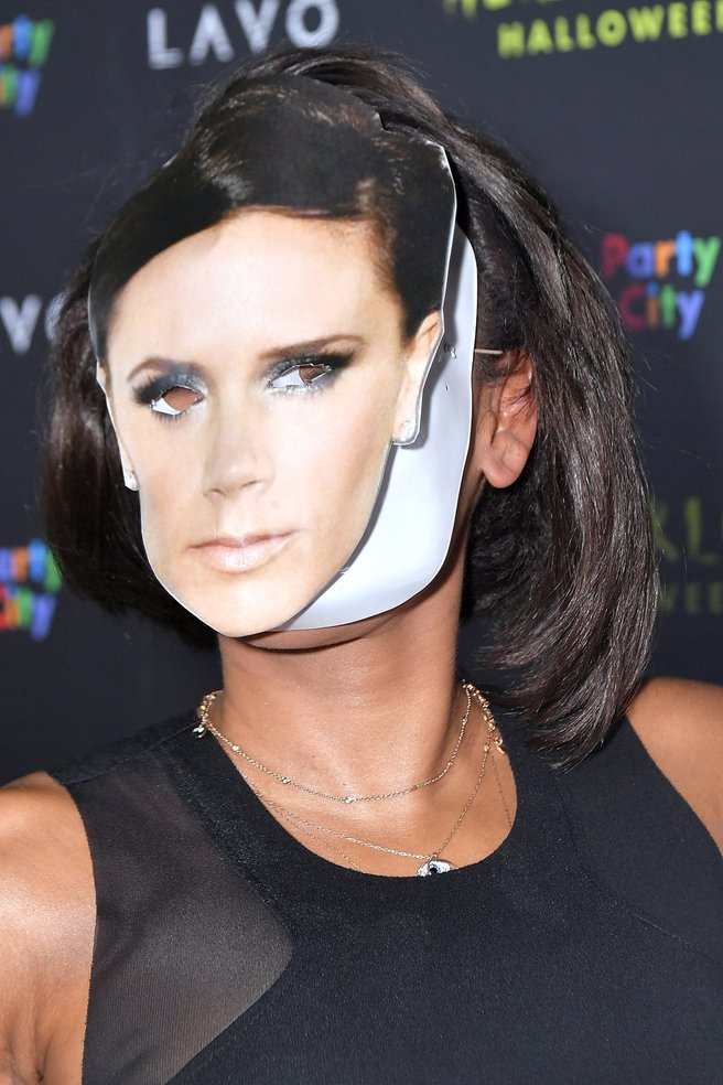 MEL B Dresses Up as Victoria Beckham For Halloween image