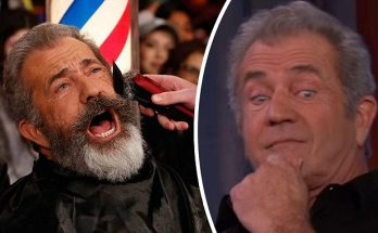Jimmy Kimmel Shaves Mel Gibson's Beard Off LIVE!