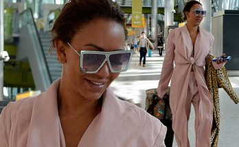 Mel B Arrives at Heathrow Airport After Messy Divorce Scandal!