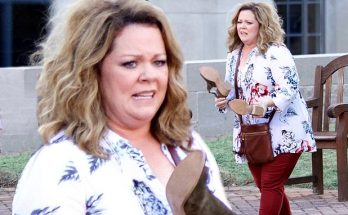 Melissa McCarthy is THE LIFE OF THE PARTY in Atlanta...Ends Up Losing Her Shoes!