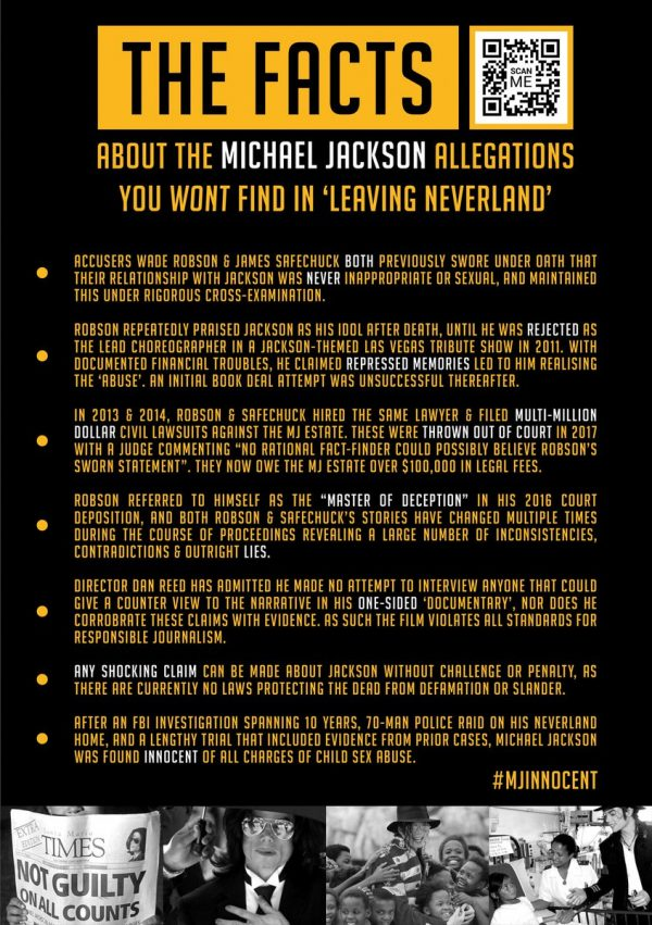Michael Jackson Fans Launch Ad Campaign HITTING BACK At Fake Accusers!
