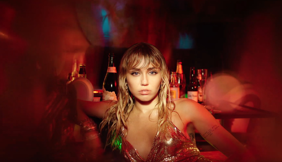 Watch Miley Cyrus' Video for SLIDE AWAY!
