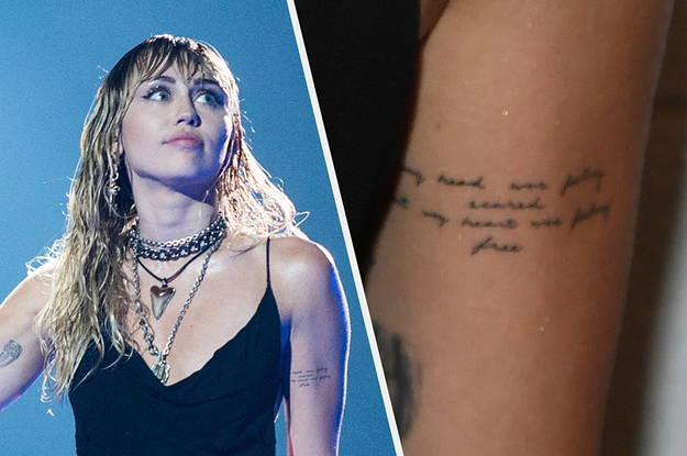 Miley Cyrus Sends Liam Hemsworth a Message WITH HER NEW TATTOO!