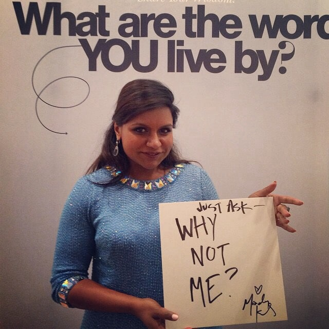 Mindy Kaling Nyc Promo Of Why Not Me