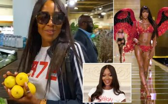 Naomi Campbell Goes Grocery Shopping After Claiming to NOT EAT!