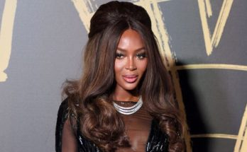Naomi Campbell Wears a TRANSPARENT DRESS to Charity Event