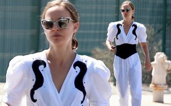 Natalie Portman Looks Chic While Running errands in Los Angeles!